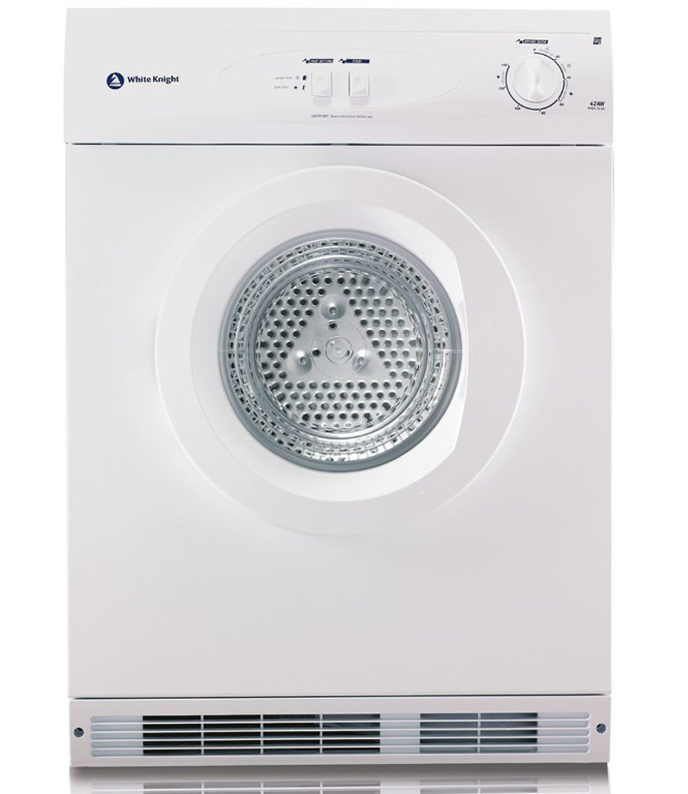 White Knight 44A7W Reverse Vented Tumble Dryer 7kg
