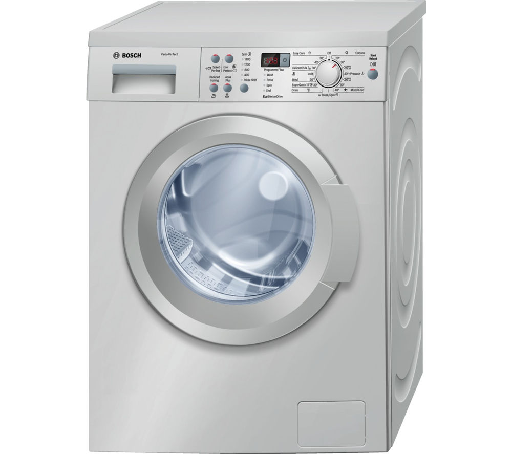 BOSCH WAQ2836SGB Washing Machine - Silver