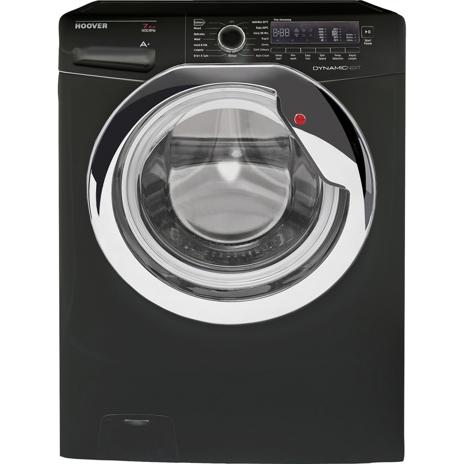 Hoover DXC4C47B1 Washing Machine - Black
