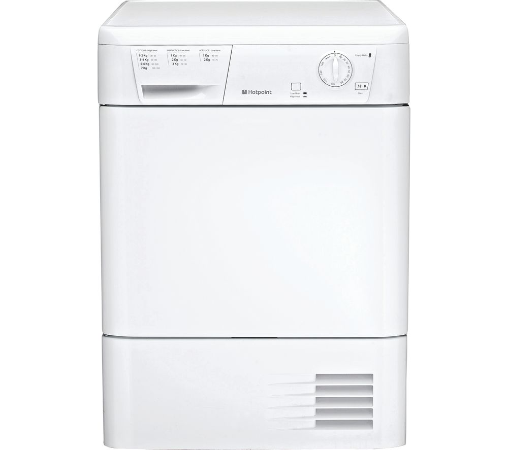 Hotpoint Aquarius FETC &)B P Front Loading Condenser Electric Dryer 7kg