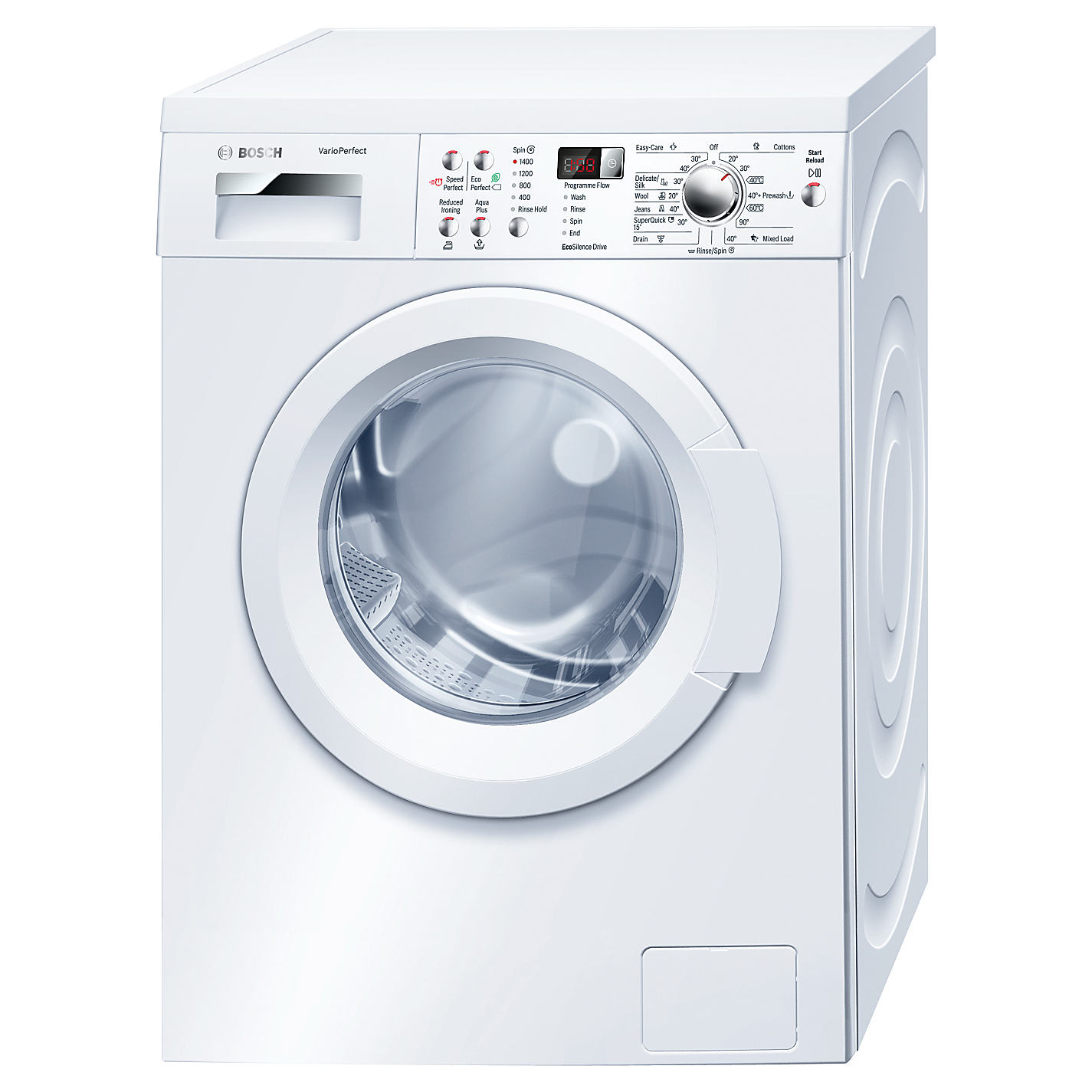 Bosch Serie 6 Avantixx WAQ283S1GB Front-Loading Washing Machine - 8 kg - White