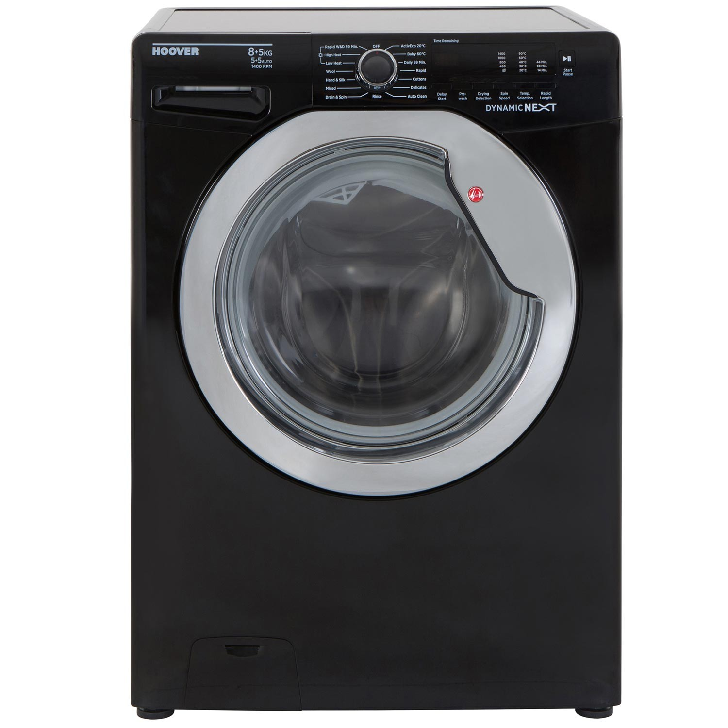 Hoover Dynamic Next WDXC C4851B Front-Loading Electric Washer/Dryer - 8 kg/5 kg